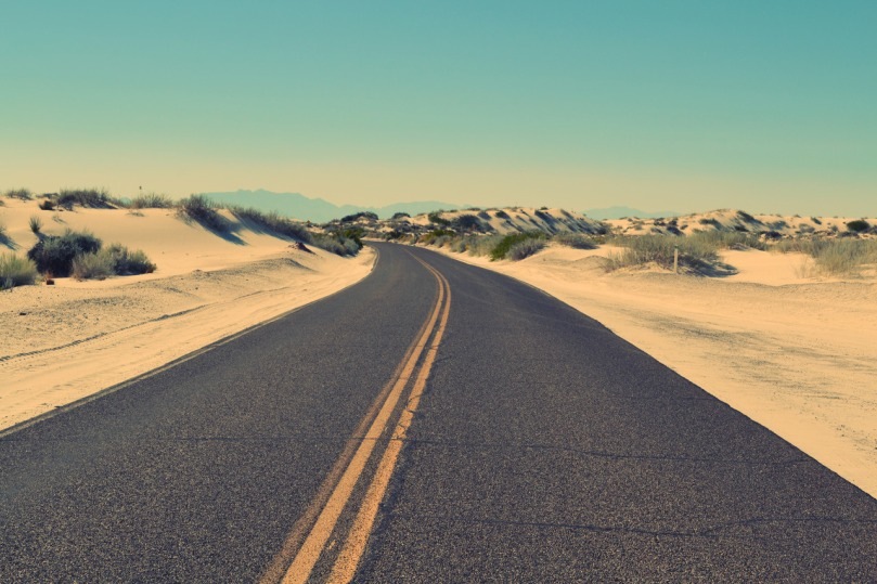 Road in a desert - Revive with Haz blog